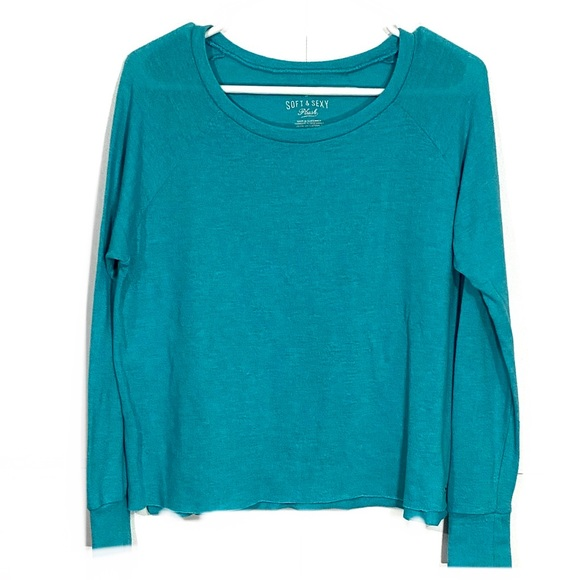 American Eagle Soft & Sexy Beach Terry Sweater